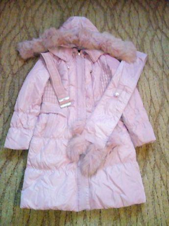Пальто детское девочковое