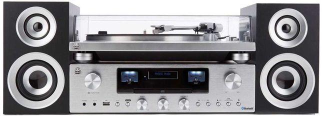 Gramofon GPO Retro PR 100/200 Bundle + głośniki