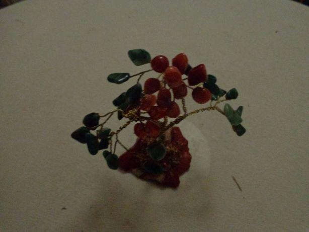 Biblot Arvore da vida objeto decorativo pedras preciosas