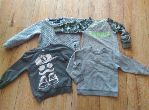 Bluzy zestaw 86-92