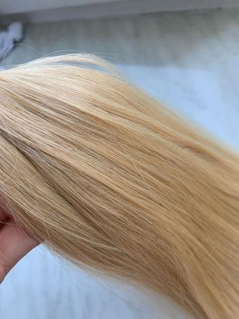 100г  новые Южно-русские волосы для наращивания / double drawn / 62 см