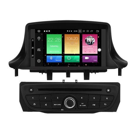 Radio RENAULT MEGANE 3 Android 10 / 4GB DVD 2DIN PX5 Nawigacja PL 24H