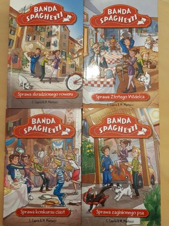 "Seria książek ""Banda Spaghetti"""