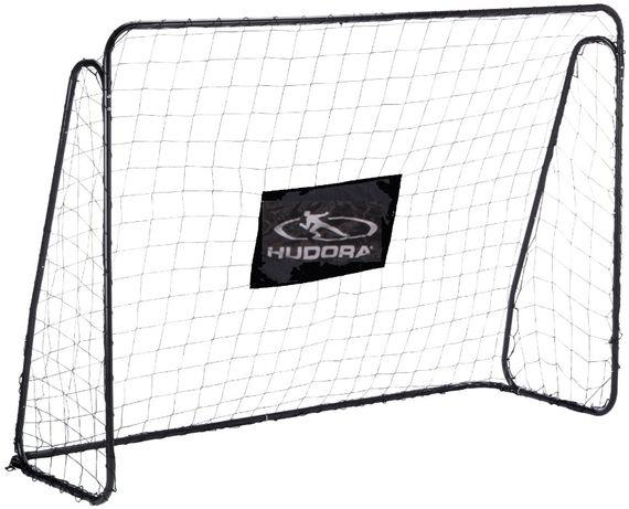 Duża składana bramka piłkarska XXL z siatką 300 x 205 cm Demo
