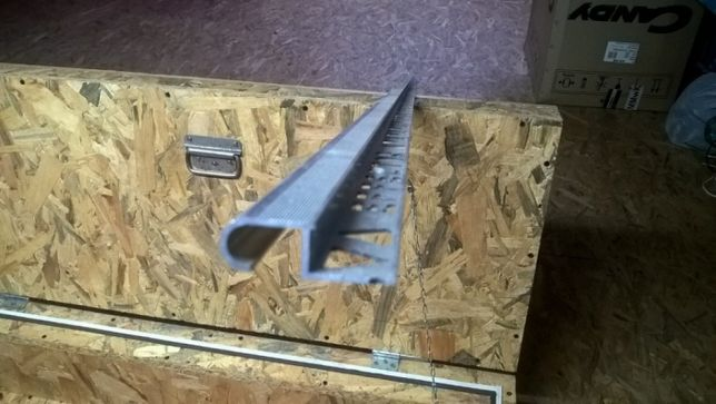 Profil schodowy alumniniowy dł. 2.50 cm do grubości płytek max 10mm