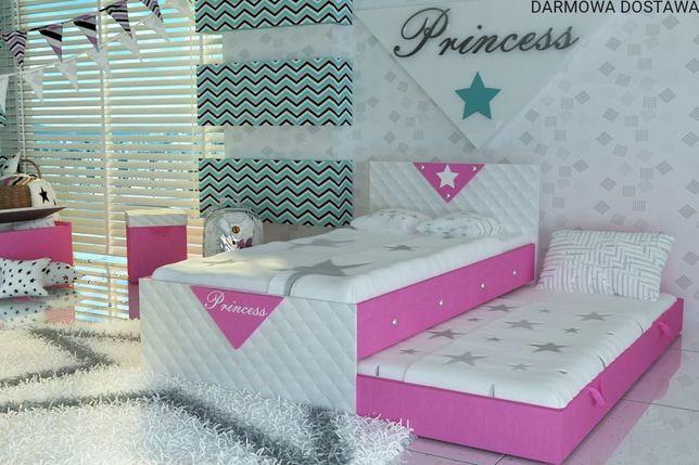 DARMOWA DOSTAWA.Łóżko piętrowe dla dziecka+materace.MEBLUJTANIO.PL