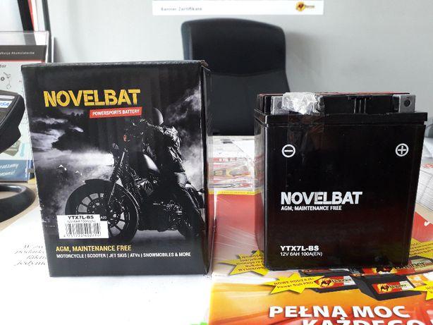 Akumulator Motocyklowy NOVELBAT YTX7L-BS 12V 6Ah 100A Grodzisk Maz