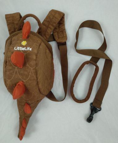 Plecak Little Life ze smyczą stan idealny