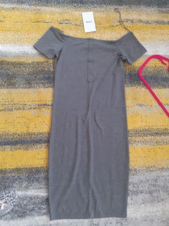 Sukienka midi szara r36-38