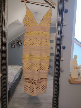 Koronkowa sukienka ASOS 36