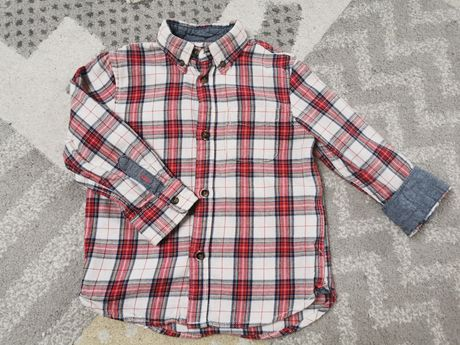 Koszula w kratę h&m 104