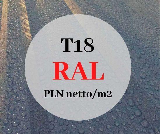 blacha dachowa trapezowa T18 II gat blachy trapezowe antracyt/grafit