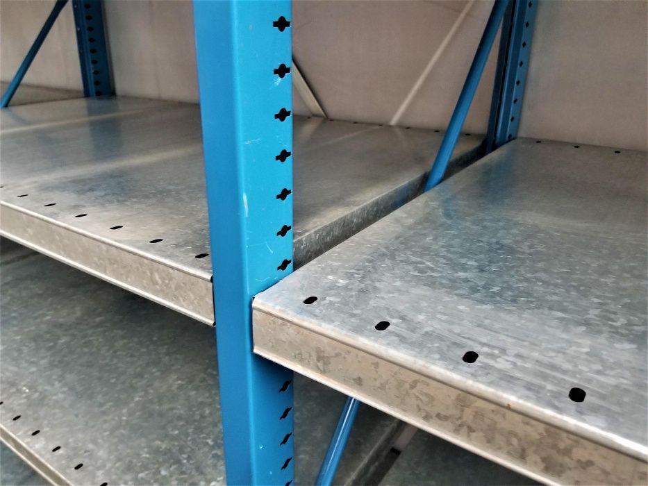 REGAŁ 60x230x303cm/18p Metalowy Magazynowy Półkowy Garażowy
