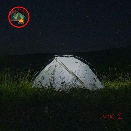 Палатка Начерхайк Вик 970 гм. Naturhike VIK 1 новая с юбкой