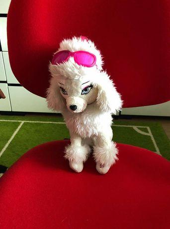 Piesek interaktywny w okularach Barbie