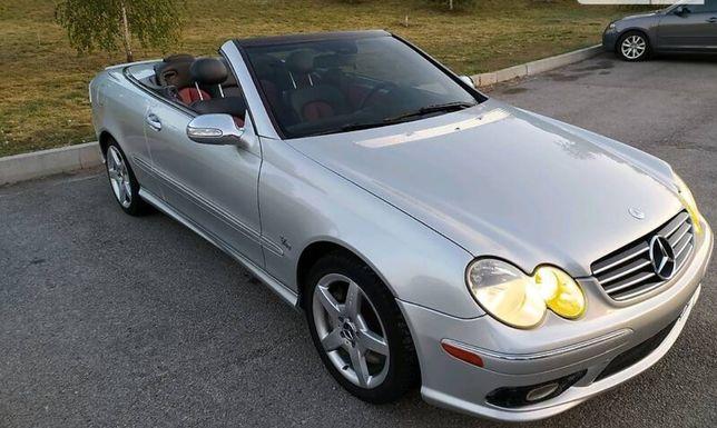 Mercedes clk w209 amg500