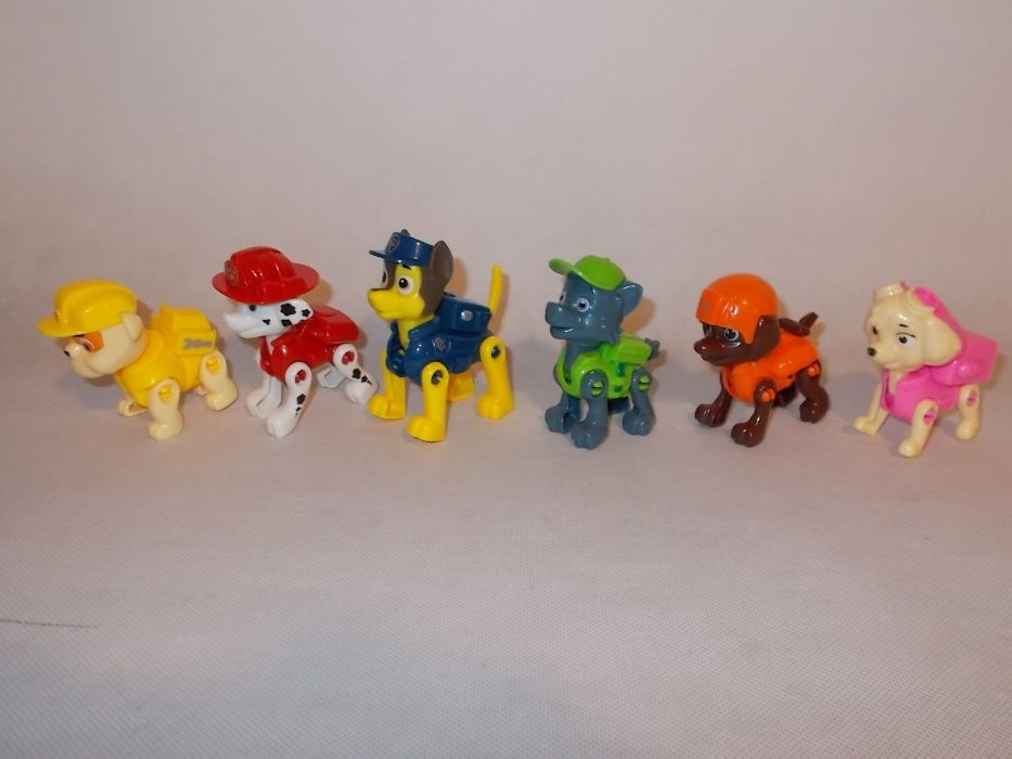 Psi Patrol- figurki 6szt-zestaw Mierzyn - image 1