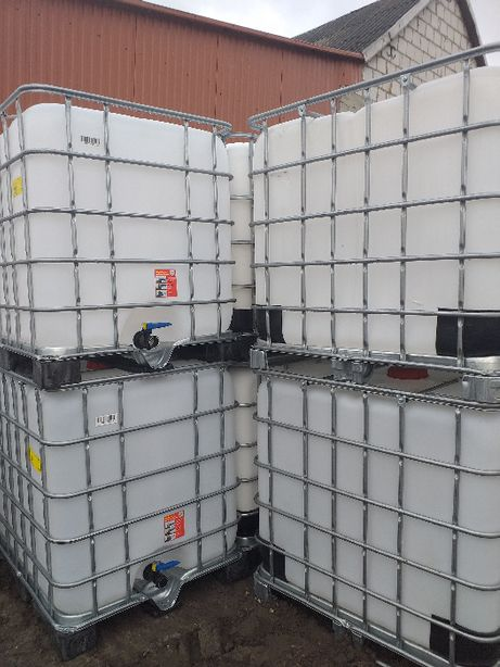 Zbiornik beczka paletopojemnik 1000l ibc mauzer mauser zbiorniki