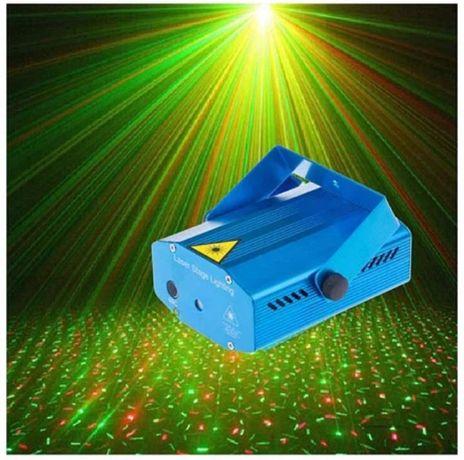 Лазерный проектор Диско LASER HJ09 2in1 / Mini плеер