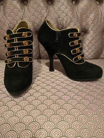 Ботільйони Dolce&Gabbana оригінал нові 38 розміру, черевички, чобітки
