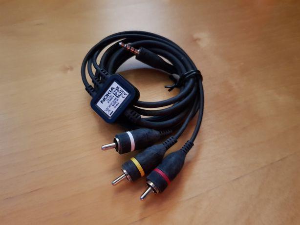 NOKIA oryginalny kabel audio-wideo do telefonów serii N (np. N95)