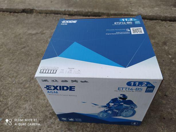 Аккумулятор   EXIDE, ETZ14-BS