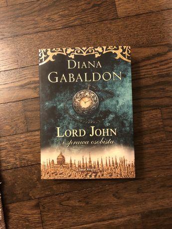 Lord John i sprawa osobista Diana Gabaldon