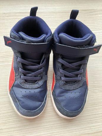 Фірмові шкіряні демісезонні черевики Puma, 29 розмір