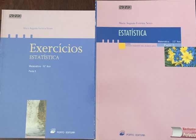 Manual de Estatística 10 ano