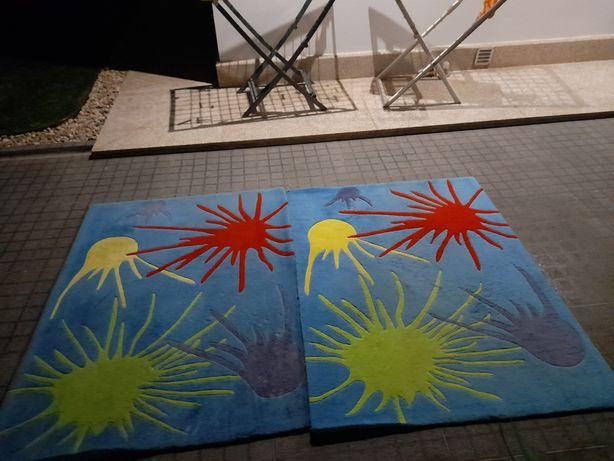 Carpetes 100% lã