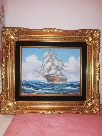 Obraz ze statkiem Hydon