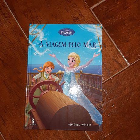 Livro Frozen JÁ com portes
