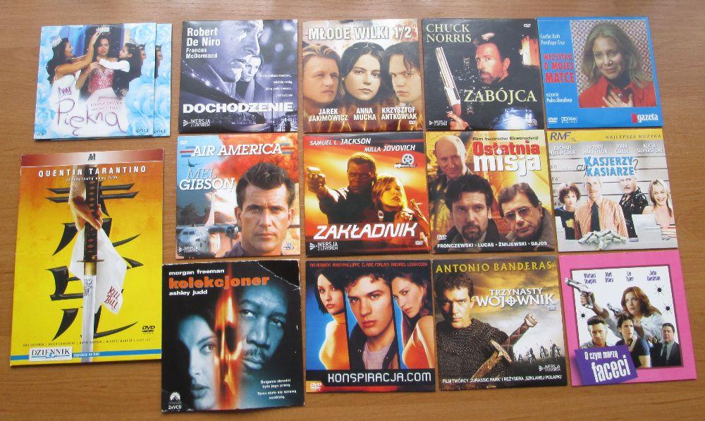 Kolekcja filmów DVD Zestaw 15 sztuk