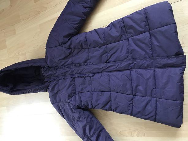 Plaszcz kurtka zimowa dla dziewczynki 128 endo