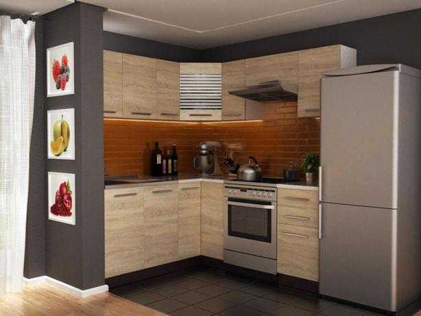 Tani narożny zestaw mebli 3,6 m meble kuchenne kuchnia Marta 02
