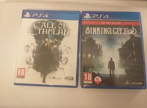 Call of cthulhu i sinking city ps4