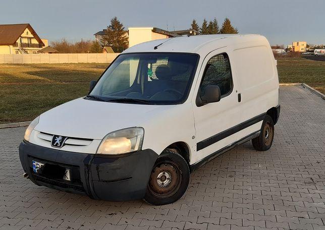 Peugeot Partner 1,9D VAT-1, klima, hak - stan dobry+ , OKAZJA!! FV23%