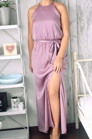 Little mistress London sukienka dluga z rozcieciem s 36 wesele