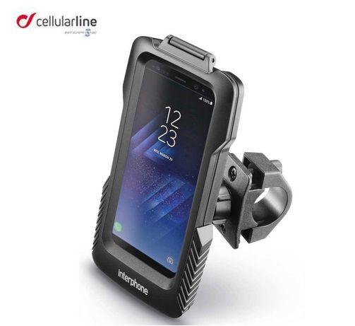 Interphone Cellularline Uchwyt rower Samsung Galaxy S7 S6 iPhone 6 8