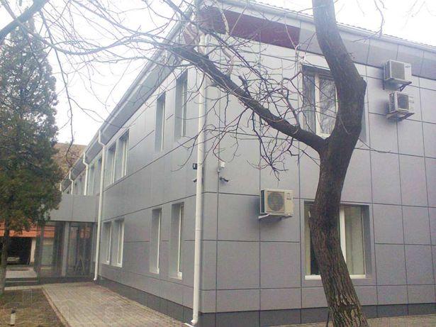 Оформление фасадов композитными панелями