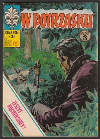Kapitan Żbik - W potrzasku - 1977 - pierwsze wydanie