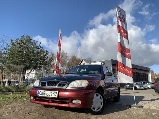 Daewoo Lanos 1.6 benzyna + LPG // ważne opłaty // hak // zamiana?