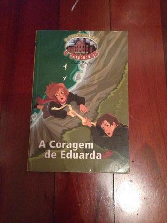 """Livro """"O colégio das quatro torres: A coragem de Eduarda"""""""