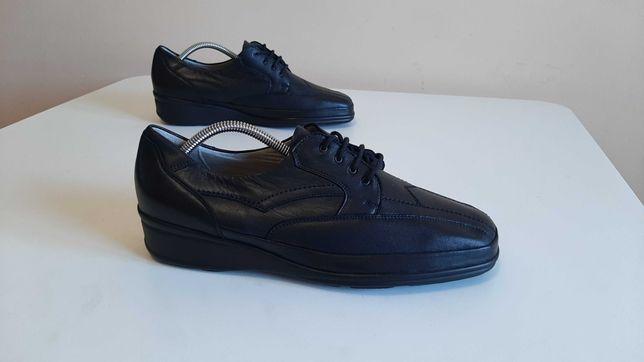 43р,стелька28см,Кожаные ботинки,туфли Waldlaufer (Валдауфер), отлично