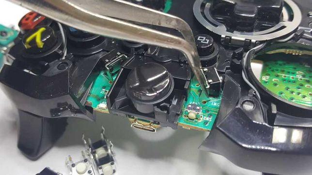 Ремонт джойстиков, геймпадов Xbox, PSP