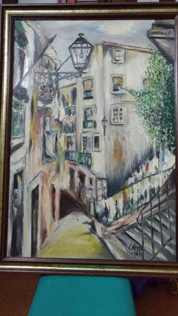 Pintura Óleo V.Neves 1987