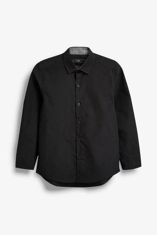 next Классическая черная рубашка некст на 12 лет рост 152 см
