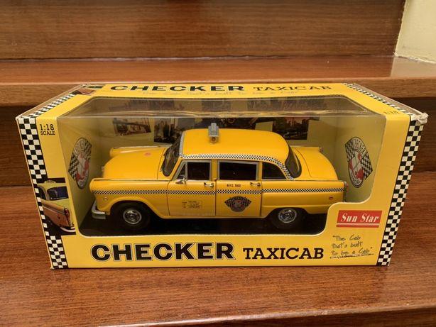 1:18 Checker Cab NYC Taxi Sunstar