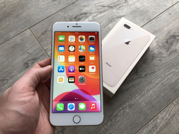 iPhone 8 Plus 64gb Gold Neverlock #s0075