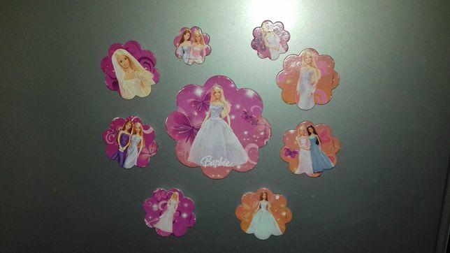 Magnesy na lodówkę Barbie